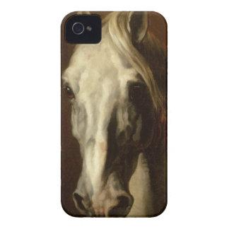 セオドアGericault著白馬の頭部 Case-Mate iPhone 4 ケース