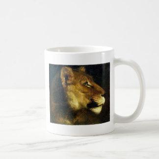 セオドアGericault著雌ジシの頭部 コーヒーマグカップ