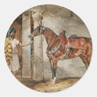 セオドアGericault著馬(東) ラウンドシール