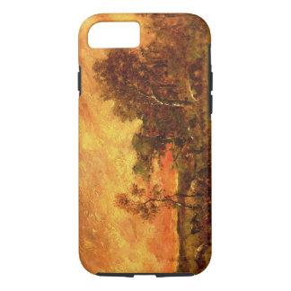 セオドアRousseauの樹木が茂った景色のヴィンテージの芸術 iPhone 7ケース