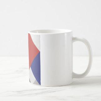 セオvan Doesburg著反対の構成V コーヒーマグカップ