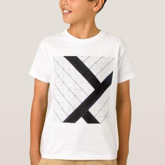 セオvan Doesburg著反対の構成VI Tシャツ