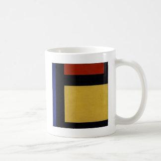 セオvan Doesburg著反対の構成X コーヒーマグカップ