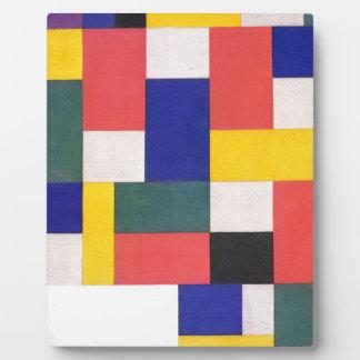 セオvan Doesburg著純粋な絵画 フォトプラーク