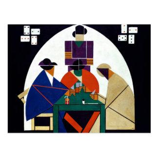 セオvan Doesburg -カードプレーヤー ポストカード