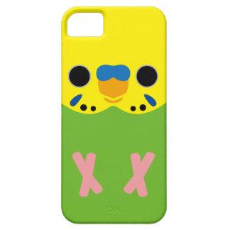 セキセイインコ(オパールのような薄緑の男性) iPhone SE/5/5s ケース