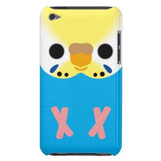 セキセイインコ(オパールのようなYellowface1 Skyblueの女性) Barely There iPod ケース