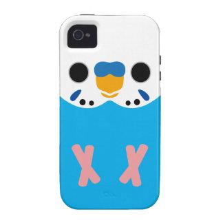 セキセイインコ|(オパールのよう|Skyblue|男性) iPhone 4/4S Case