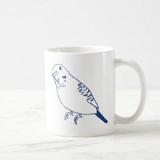 セキセイインコ コーヒーマグカップ