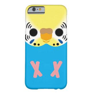 セキセイインコ 常態 Yellowface1 Skyblue 女性 スキニー iPhone 6 ケース