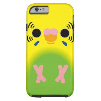 セキセイインコ(薄緑の道化師) iPhone 6 タフケース