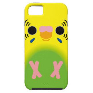 セキセイインコ(薄緑の道化師) iPhone SE/5/5s ケース