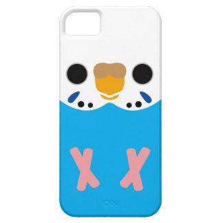 セキセイインコ(Skyblueのオパールのような女性) iPhone SE/5/5s ケース