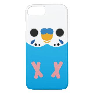 セキセイインコ(Skyblueのオパールのような男性) iPhone 7ケース