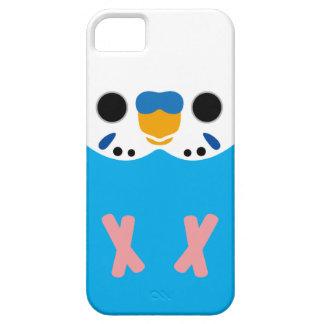 セキセイインコ(Skyblueのオパールのような男性) iPhone SE/5/5s ケース