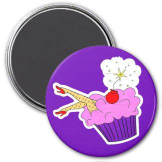 セクシーなカップケーキの磁石 マグネット