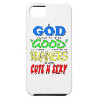 セクシーな神のよいランナーかわいい「N」 iPhone SE/5/5s ケース