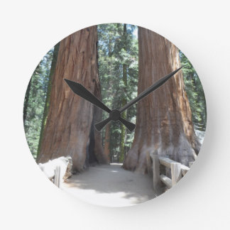 セコイア国立公園 ラウンド壁時計