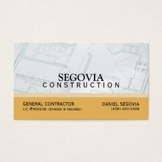 セゴビアの建設業カード 名刺