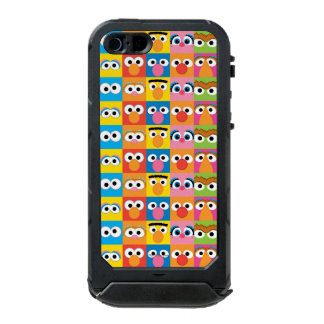 セサミストリートのキャラクターの眼状斑 ウォータープルーフiPhone SE/5/5sケース