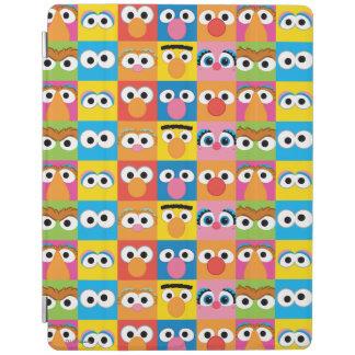 セサミストリートのキャラクターの眼状斑 iPadスマートカバー