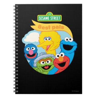 セサミストリートのキャラクターの芸術 ノートブック