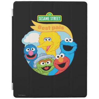 セサミストリートのキャラクターの芸術 iPadスマートカバー