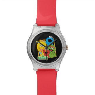 セサミストリートの友達 腕時計