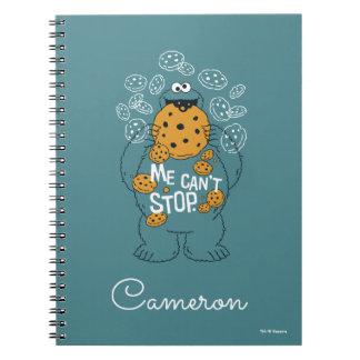 セサミストリート|のクッキーモンスター-私はストップことができません ノートブック