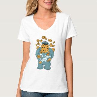セサミストリート|のクッキーモンスター-私はストップことができません Tシャツ