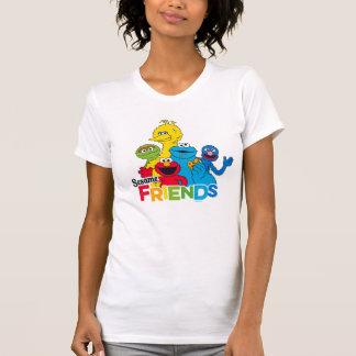 セサミストリート|のゴマの友人 Tシャツ