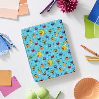 セサミストリート|の親友の星パターン iPad カバー