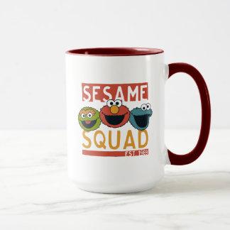セサミストリート-ゴマの分隊 マグカップ