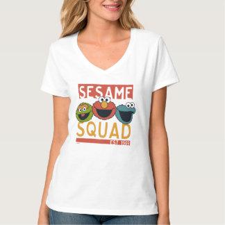 セサミストリート-ゴマの分隊 Tシャツ