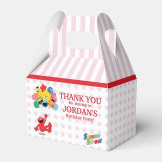 セサミストリート| Elmoおよび友達-誕生日の気球 フェイバーボックス