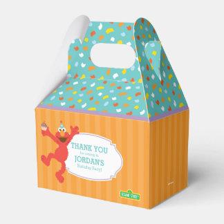 セサミストリート| Elmo -カップケーキ及び紙吹雪の誕生日 フェイバーボックス