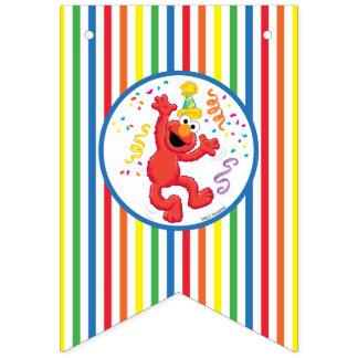 セサミストリート| Elmo -虹の誕生日 バンティングフラッグ