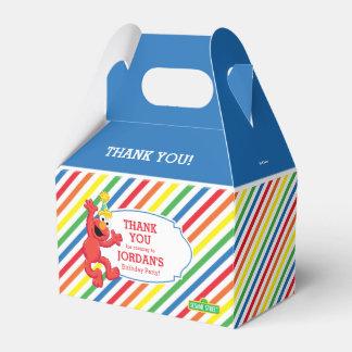 セサミストリート| Elmo -虹の誕生日 フェイバーボックス