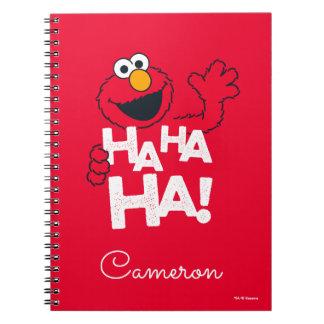 セサミストリート| Elmo - Ha Ha Ha! ノートブック