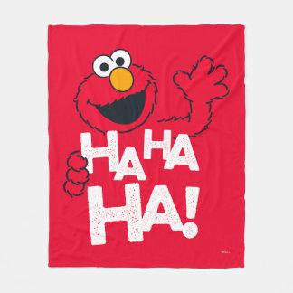 セサミストリート  Elmo - Ha Ha Ha! フリースブランケット