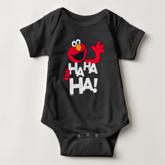 セサミストリート| Elmo - Ha Ha Ha! ベビーボディスーツ