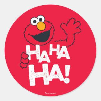 セサミストリート| Elmo - Ha Ha Ha! ラウンドシール