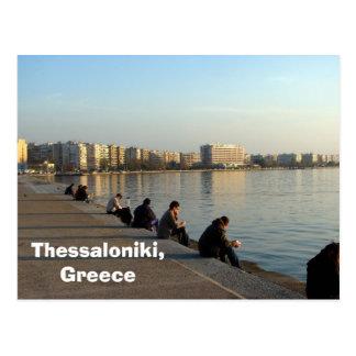 セサロニキ、ギリシャ ポストカード