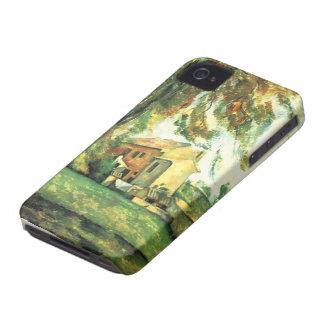 セザンヌのiPhone 4/Sの場合による農家そしてChes… Case-Mate iPhone 4 ケース