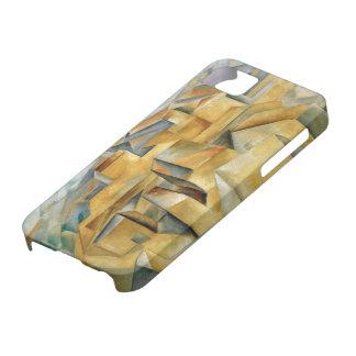 セザンヌのiPhone 5の場合によるL'Estaqueの家 iPhone SE/5/5s ケース