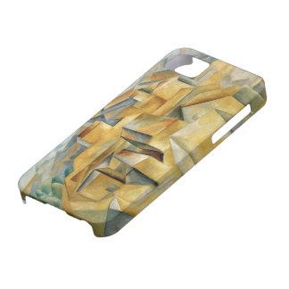 セザンヌのiPhone 5/Sの場合によるL'Estaqueの家 iPhone SE/5/5s ケース