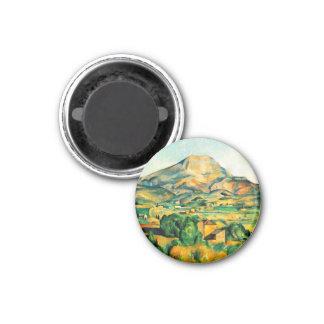 セザンヌMont Sainte-Victoireの磁石 マグネット
