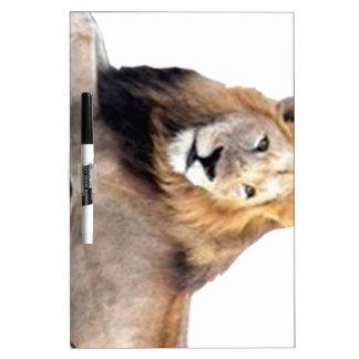 セシルのライオンのデザイン ホワイトボード