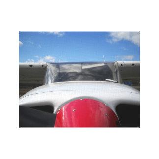 セスナの飛行機 キャンバスプリント