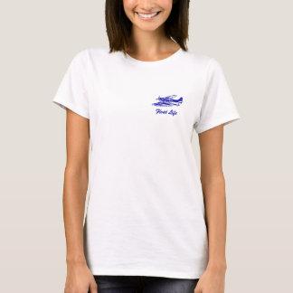 セスナ206のfloatplane tシャツ